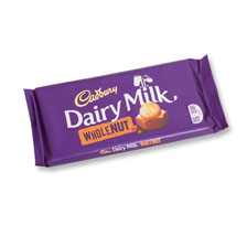Cadbury Schokolade - Whole Nut