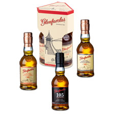 Probierpaket mit 3 Flaschen Single Malt Whisky