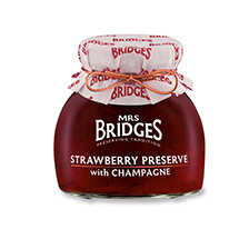 Mrs Bridges Erdbeermarmelade