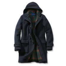 Dufflecoat für Herren in Navy von London Tradition