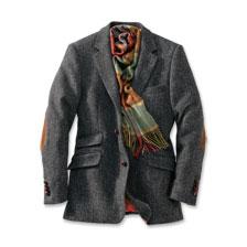 sakko aus harris tweed in anthrazit bestellen the. Black Bedroom Furniture Sets. Home Design Ideas
