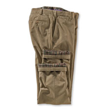 Thermo-Hose in Khaki von Hiltl