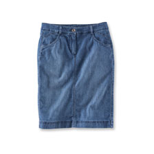 L�ssiger Jeansrock von Robertson in Blue Denim