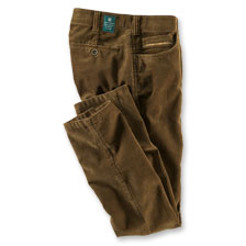 2b2f7d629e15b Stretch-Cordhose in Mittelbraun von Club of Comfort