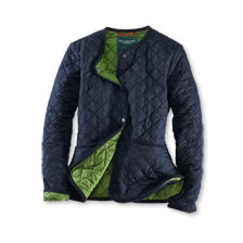 Sommerleichte Steppjacke in Navy von Wellington of Bilmore