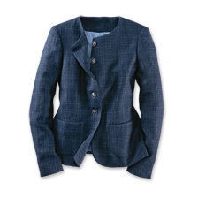 Blazer in Atlantic Blue
