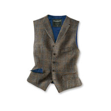 Weste aus Harris Tweed