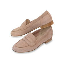 Damen-Loafer in Rosenholz