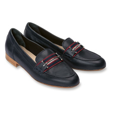 College-Slipper 'Brighton' in Navy von Kensington