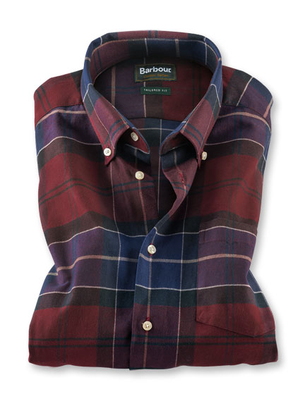 Barbour-Flanellhemd 'Lustleigh'