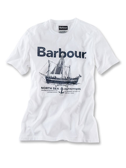 Barbours 'Sailboat'-Shirt