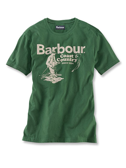 Fisherman'-Shirt von Barbour in Racing Green