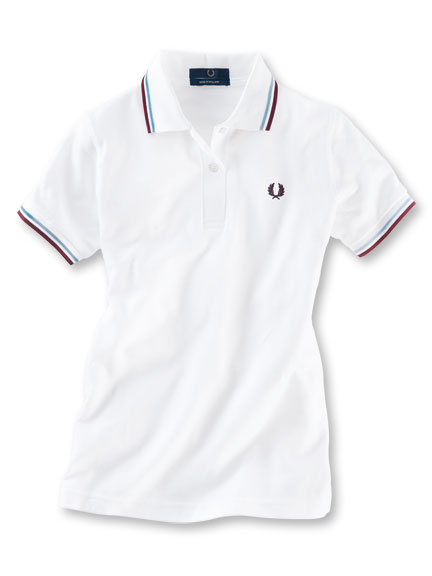 Fred-Perry-Shirt 'G12' in Weiß