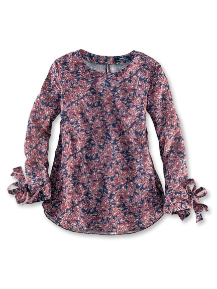 Blusenshirt 'Winter Blooms' von Herringbone