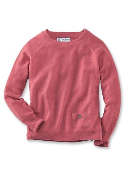 Kaschmir-Pullover 'English Rose' in Wildrose
