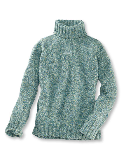 Rollkragen-Pullover 'Dalby Forest' in Hunter Green