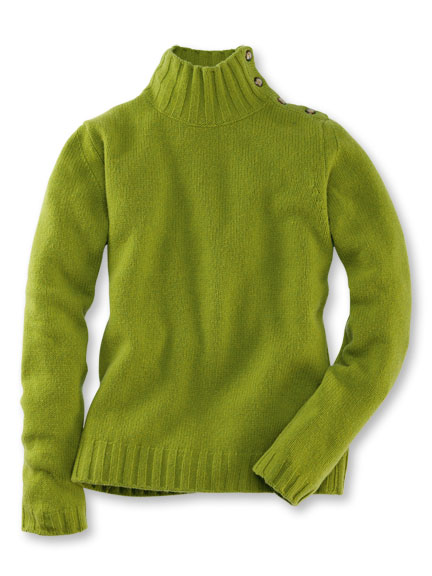 Casual-Pullover in Granny Smith von Charles Robertson