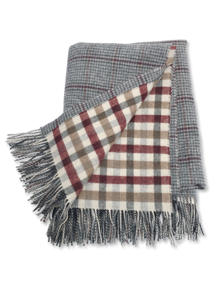 Luxuriöses Plaid von Johnstons of Elgin