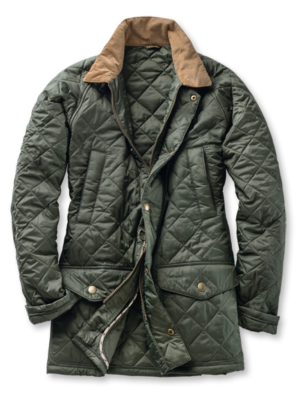 'Canterdale Quilt'-Steppjacke in English green von Barbour