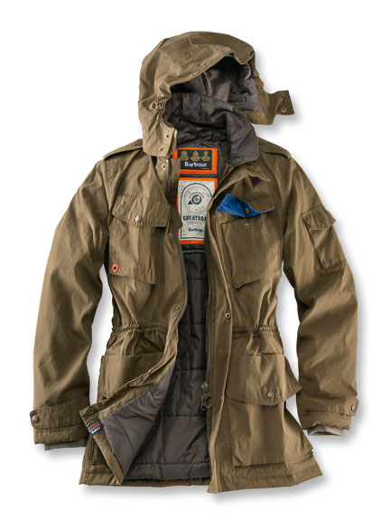 Funktionsparka 'Hemble' von Barbour in Camel