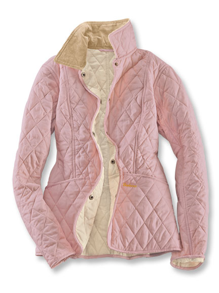 Barbour-Steppjacke 'Summer Liddesdale' in Light Ros�