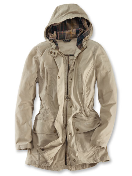 Sommer-Parka in Sand von Barbour
