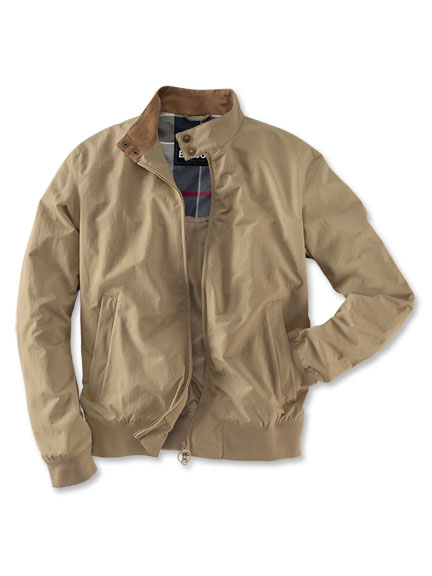 Barbour-Blouson 'Harrington' in Sand