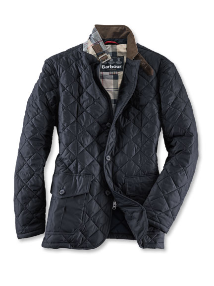 Barbour-Steppjacke 'Sander' in Navy