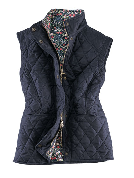Barbour-Weste 'Bellflower'