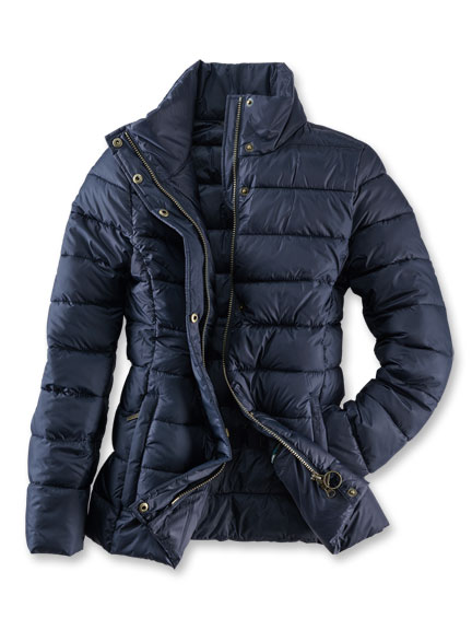 Steppjacke 'Farne Quilt' in Navy von Barbour