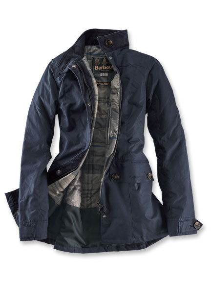 Barbour Wachsjacke 'Charlotte' in Royal Navy