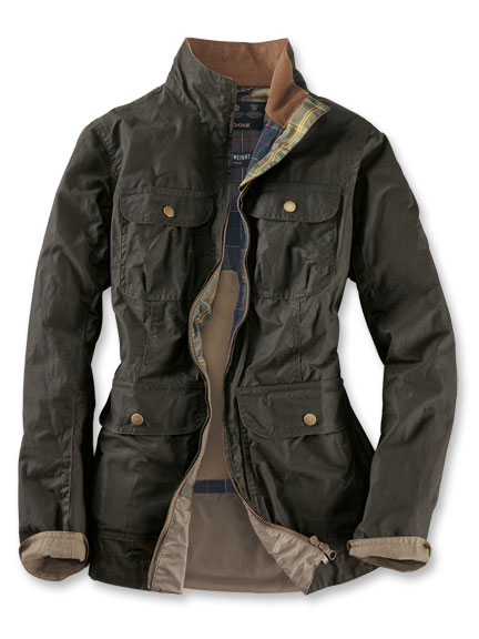 Barbour-Sommer-Wachsjacke 'Lightweight Filey' in Archive Olive