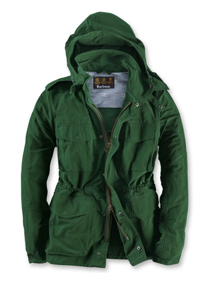 Barbour-Sommerjacke in Racing Green