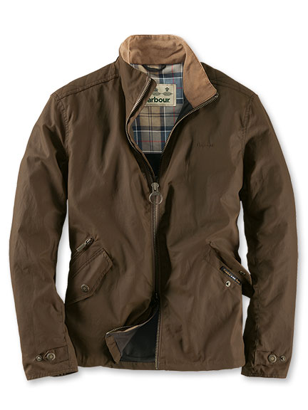 Barbour-Jacke 'Claxton Jacket' in Camel