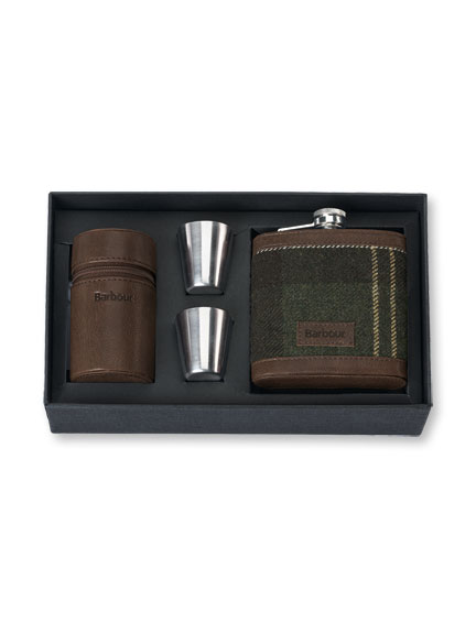 Barbour 'Pocket Flask'-Set