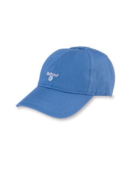 Barbours 'Cascade Sports Cap' in Sea Blue