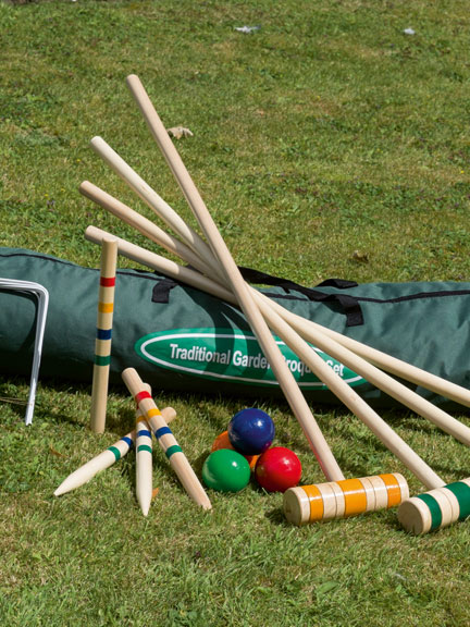 Family Croquet Set von Traditional Garden Games
