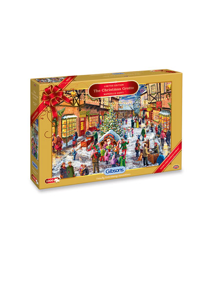 Gibsons Christmas Puzzle 2016 'The Christmas Grotto'