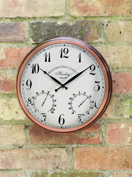 Outdoor-Wanduhr 'Henley' von Westminster Clocks