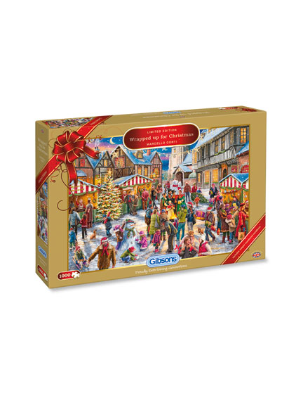 Gibsons Christmas Puzzle 2017 'Wrapped up for Christmas'