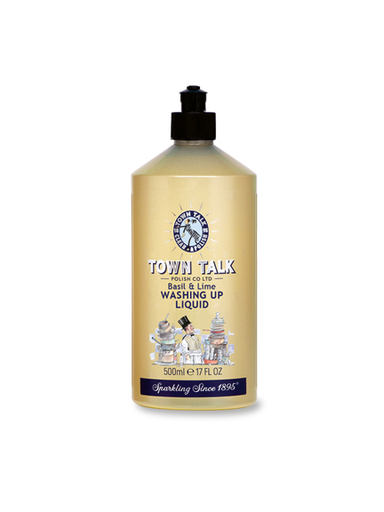 Basil & Lime Washing up Liquid von Town Talk