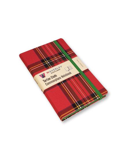 Notizbuch U0027Royal Stewartu0027 Von Commonplace Notebooks