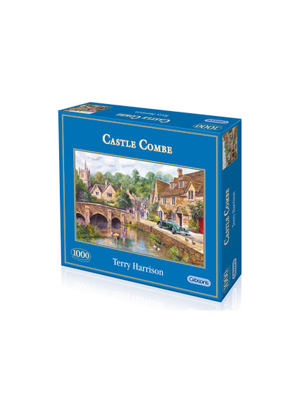 1000 Teile Puzzle 'Castle Combe' von Gibsons