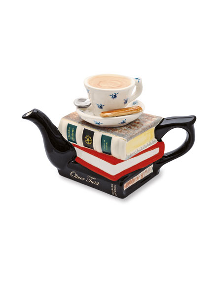 Teapot 'Books' von Carters of Suffolk