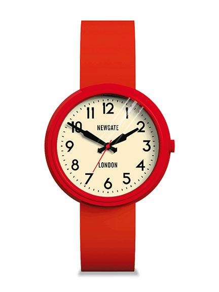 Damenuhr 'Electric Watch Red'