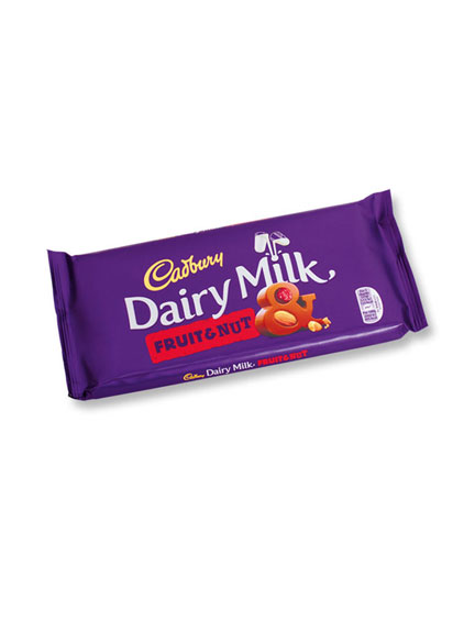 Cadbury Schokolade - Fruit & Nut