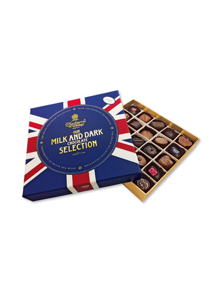 Fine Chocolate Selection 'Union Jack' von Charbonnel et Walker