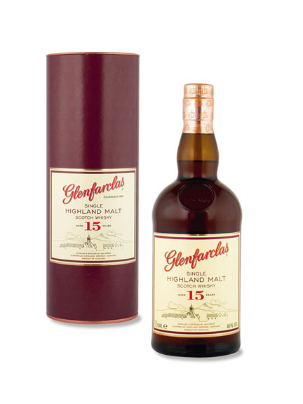 Glenfarclas - 15 Jahre alter Single Highland Malt Whisky