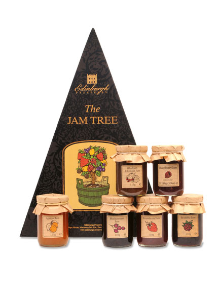 6 köstliche Konfitüren - 'The Jam Tree'