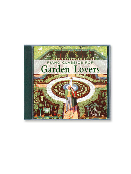 CD 'Piano Classics for Garden Lovers'